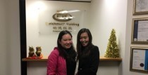 Director of our partner company-Mrs. Zhang visited our Melbourne office
