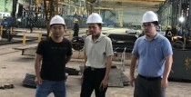 The President of Enrichment Holding Inspected China Huizhou Steel Factory